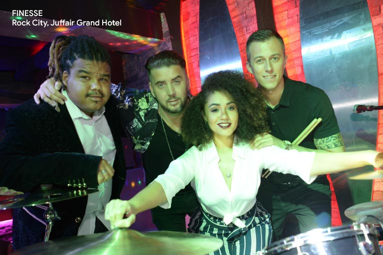 bahrain new nightclubs finesse at rock city, juffair grand hotel