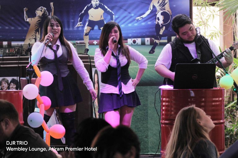 djr trio at wembley lounge atiram premier hotel, bahrain new nightclub