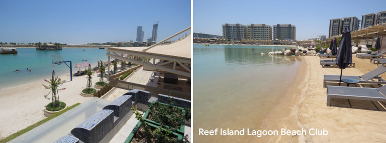 Reef Island Lagoon Beach Club Seef