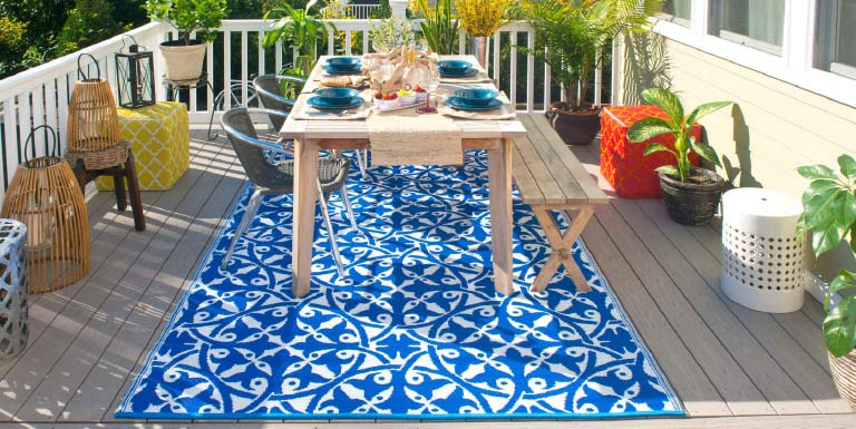 bahrain eco-friendly reversible rugs