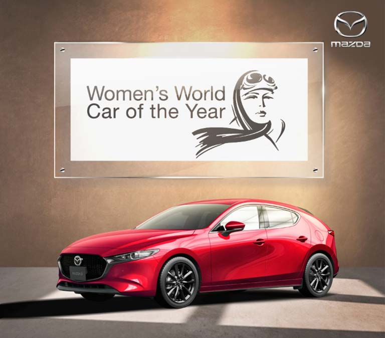 Mazda Bahrain women of the car 2019