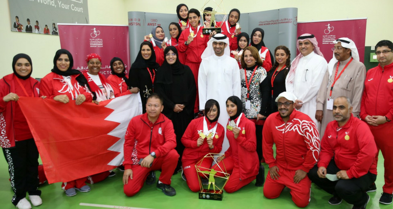 Bahrain Hits Gold in AWST 10m Rifle Team Competition