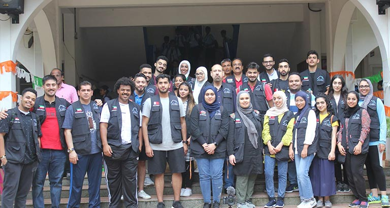 AGU Volunteers Return after Successful Humanitarian Visit to Kerala