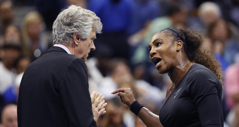 Tears, Jeers and Dramatic Name Calling at US Open Final