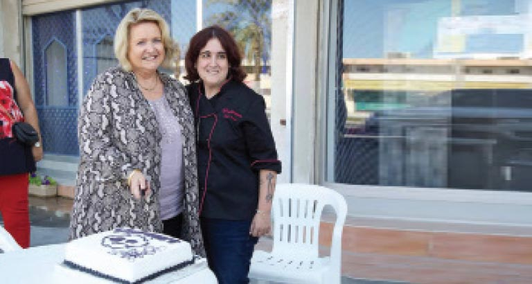 a piece of cake celebrated 25 years
