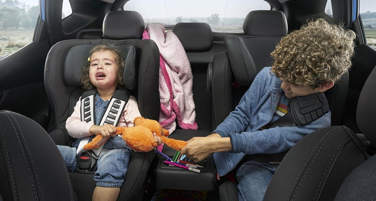 Backseat Battles Kids Driving Their Parents to Distraction and Danger on the Roads, Nissan Reveals