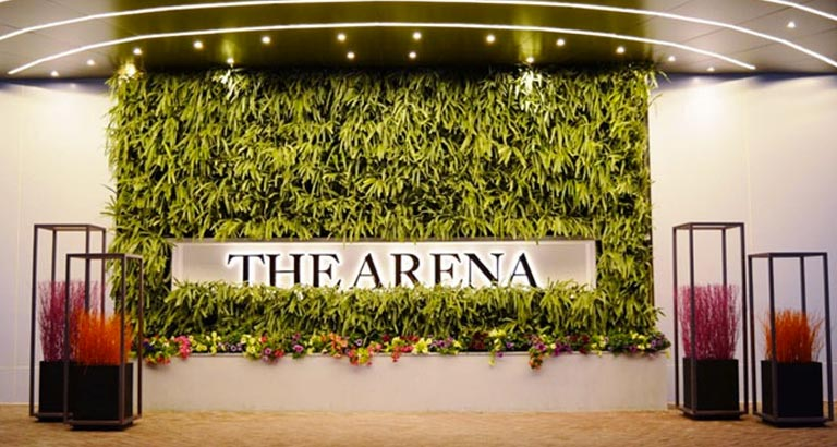 the arena new exhibition and conference space launched at ritz carlton