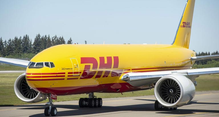 DHL in bahrain