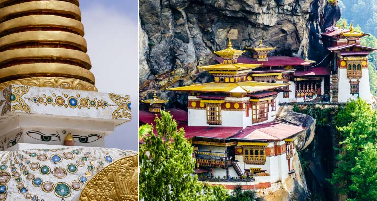 travel from bahrain to bhutan
