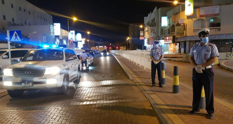 Police Deployed Across Bahrain