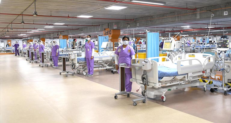 Bahrain Builds Temporary ICU in Seven Days