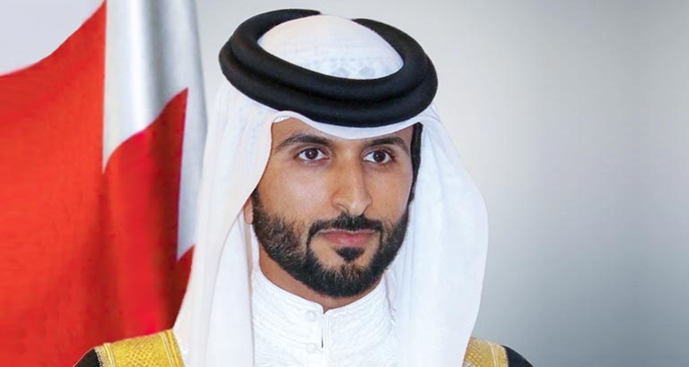His Highness Shaikh Nasser in Bahrain