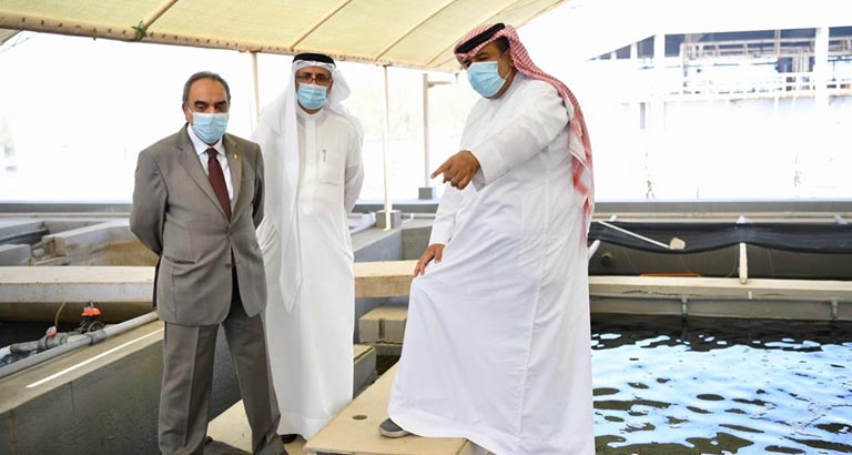 Alba Introduces Fish Farm to Boost Aquaculture in Bahrain