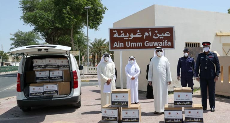 Southern Governorate Distributes Food Baskets as part of 'Feena Khair' Campaign