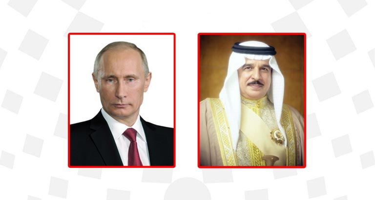 HM King congratulates Russia President on Independence Day