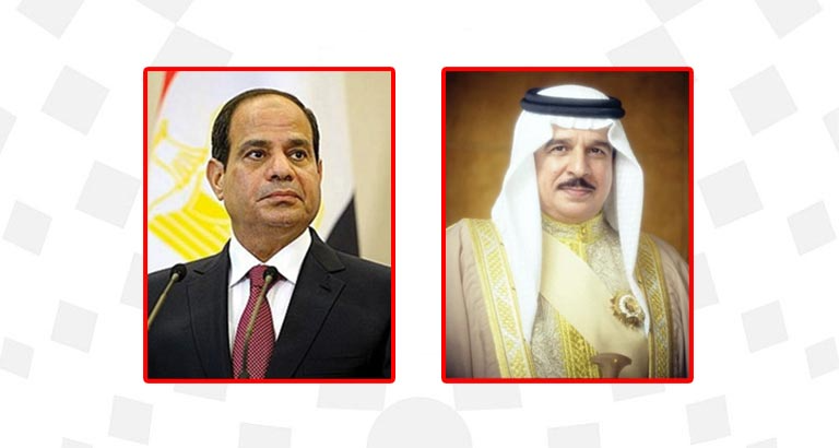 HM King Affirms Bahrain's Support to Egyptian Initiative