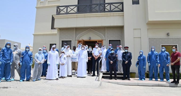 Northern Governorate Launches Disinfection