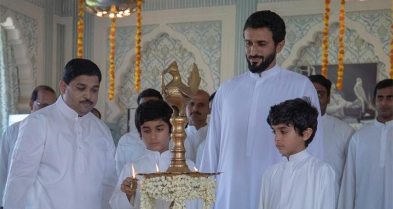 HH Shaikh Nasser expresses keenness to promote HM the King's inter-religious coexistence approach