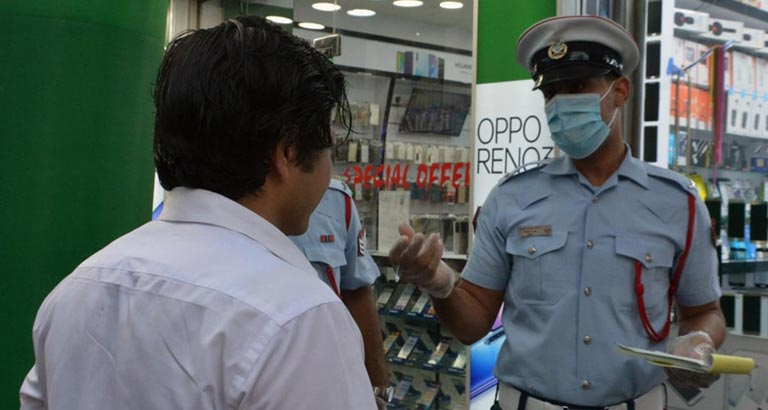 Bahrain Over 23,000 Face Mask Violations Registered
