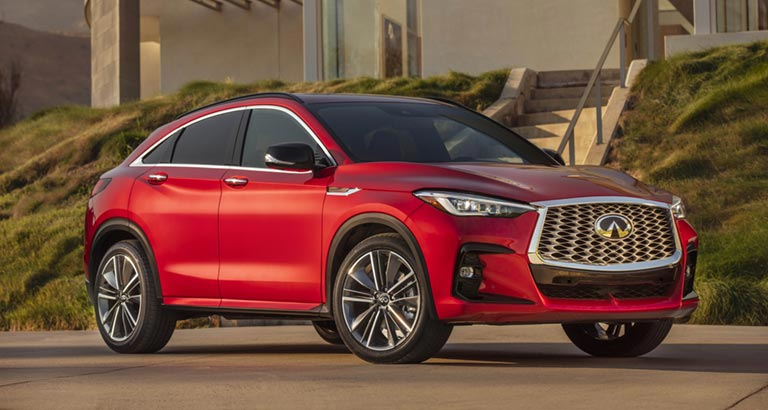 INFINITI launched the all-new QX55 SUV