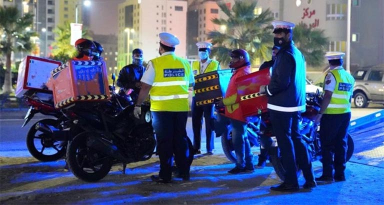 3,885 motorcycle riders booked for traffic violations in Bahrain