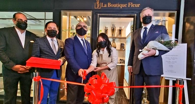 The Ritz-carlton, Bahrain Opens La Boutique Fleur at Its New Location
