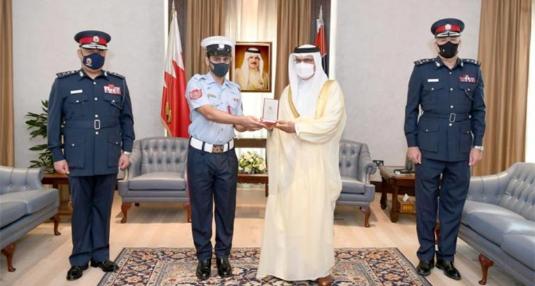 Policeman Honoured for Rescuing Child in Bahrain