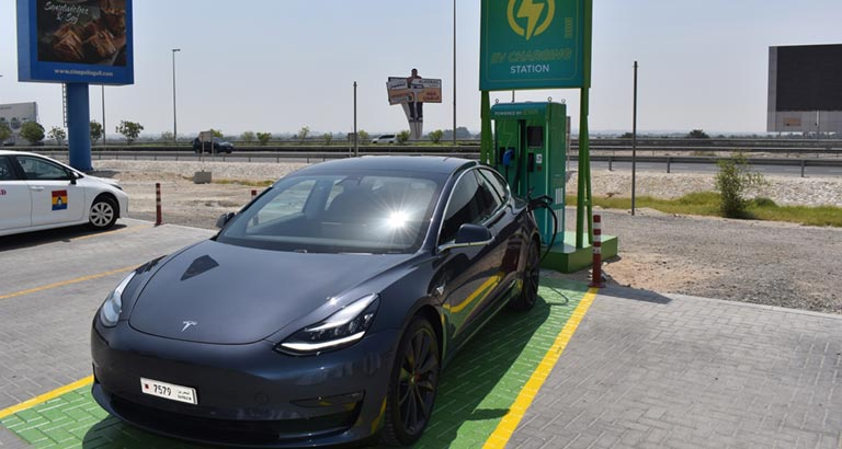 Bahrain's First Electric Cars Charging Station Inaugurated