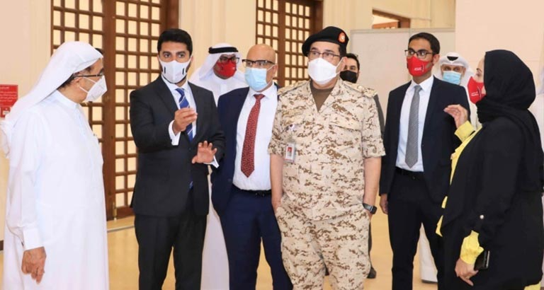 New Covid-19 medical centre opened in Bahrain