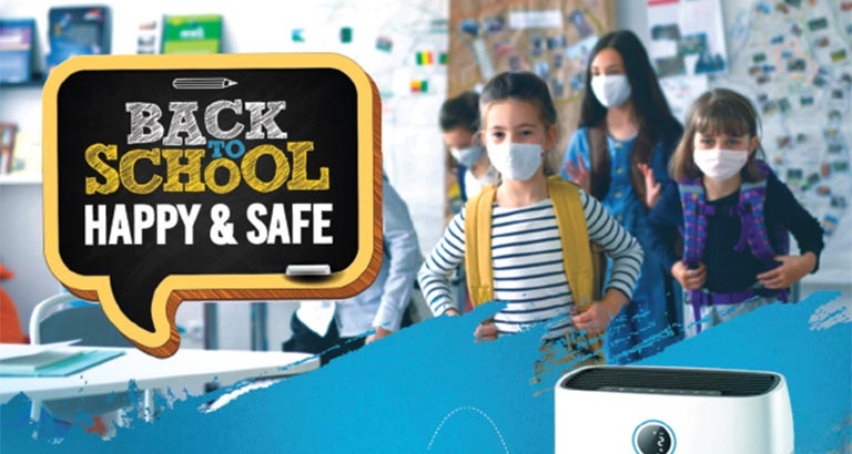 Back to School the Safe Way during a Pandemic