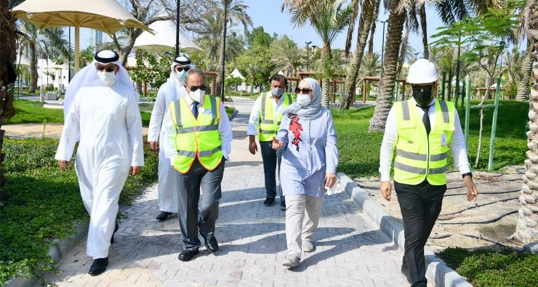 Bahrain New water Garden