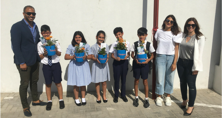 Talabat Visits The British School of Bahrain