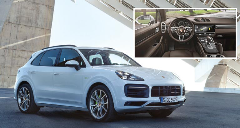Welcoming the E-Hybrid - Porsche Cayenne