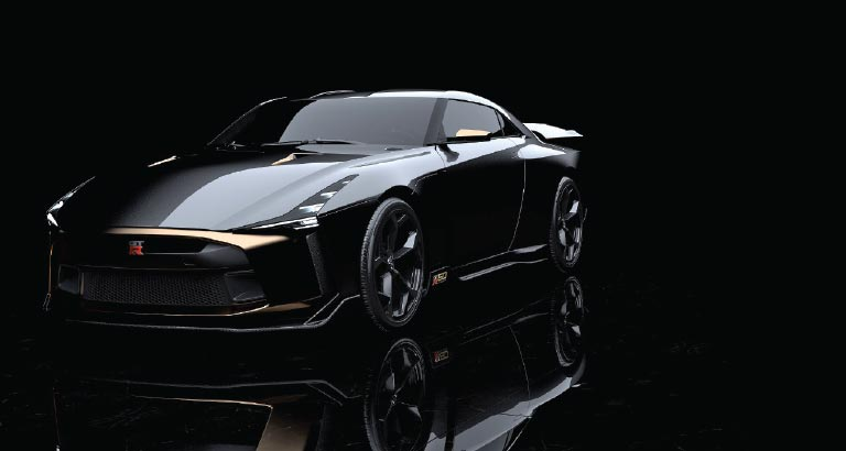 A Re-imagined Supercar - Nissan GT-R50