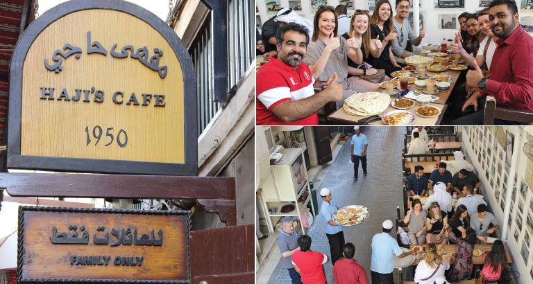 Hidden Gems  in Bahrain | Haji's Café