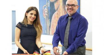 Bahraini artist Leena Al Ayoobi