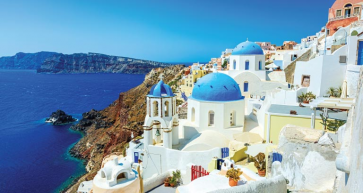 This Greek island is the ideal spot for an autumnal break.