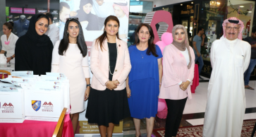 "Saar Mall organizes the ""Unite We Stand with Her"" Breast Cancer Awareness Campaign"