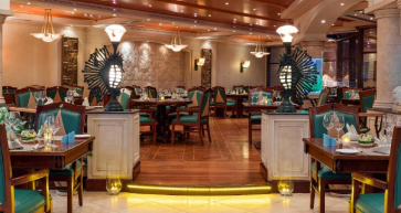 Waves Seafood Restaurant at the Crowne Plaza Bahrain