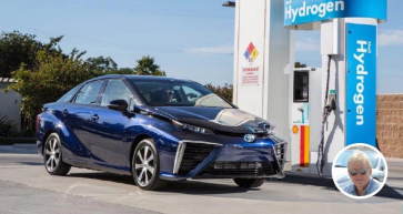 Dick Potter says hydrogen power is the path of the future.