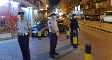 Police Deployed Across Bahrain for coronavirus