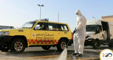 Over 330 People Trained to Disinfect Bahrain's Streets and Public Areas