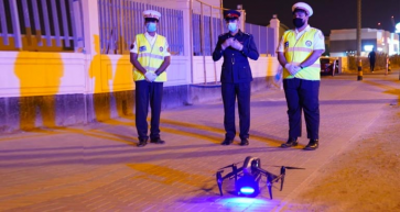 Drone Introduced in Bahrain to Promote Traffic Safety