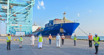 Safeen Feeders commences calls by new UIG service to Khalifa Bin Salman Port