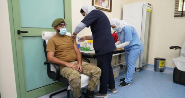 Plan to vaccinate National Guard staff hailed a success after completion