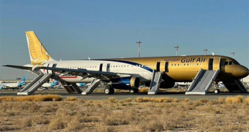 Gulf Air flight safely evacuated after difficult landing in Kuwait