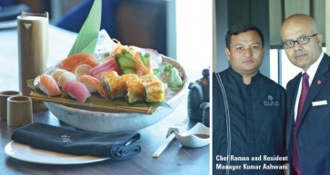 Modern Japanese Cooking | Ramee Grand Hotel & Spa
