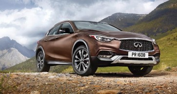 Bold and Beautiful | INFINITI QX30