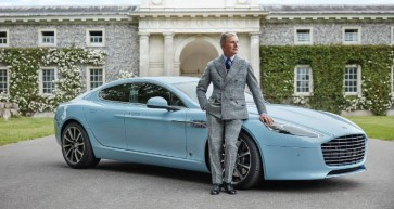 Hackett edition of the Aston Martin Q Rapide S car