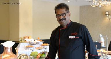 Chef Wilfred Coelho at Ramada by Wyndham Bahrain